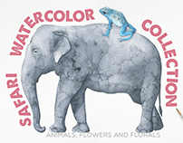Safari Watercolor Collection