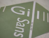 Gill Sans Specimen