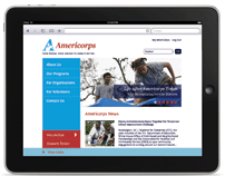 AmeriCorps Website Redesign