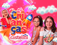 Mês das Crianças - Castelini