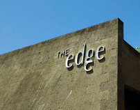 The Edge : Brand identity