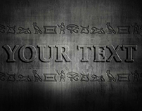 Editable Text Effect ( Free Download )
