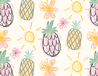 Pineapple Surface Pattern Designs