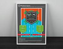 Plakat / Poster – Akademia Sportu MK