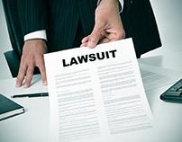 Handing over a lawsuit