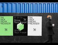 FREAK : Photo Social Network | UX UI