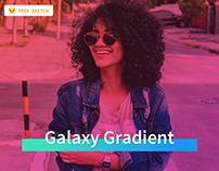 Freebie Galaxy Gradient For Sketch App