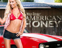 American Honey Calendar Shoot