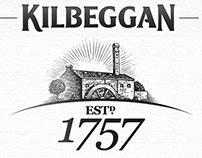 Kilbeggan New Brandmark Illustrated by Steven Noble
