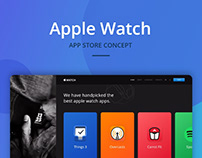 Apple Watch - App store concept