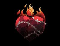 Sagrado Corazón / VITRALES III