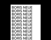Boris Neue