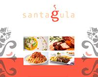Carta de comidas Santagula