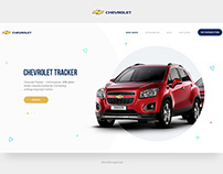 GM Uzbekistan Chevrolet website concept