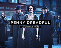 Penny Dreadful - Webdesign