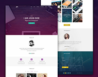 Maker - Personal HTML Template