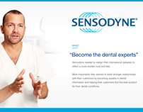 Sensodyne Website Redesign