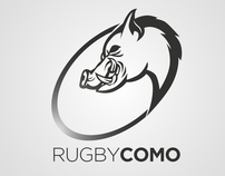 RUGBY COMO brand identity