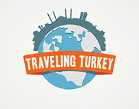 Traveling Turkey . Logo Design