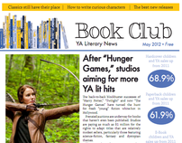 Young adult literature newsletter