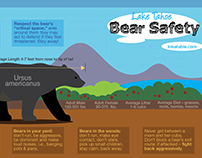 Lake Tahoe Bear Safety