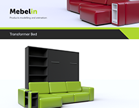 Mebelin. Furniture modelling and animation