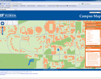 Campus Map Ufl.University Of Florida Campus Map On Behance