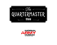 Store sign for National Army Museum. New Zealand