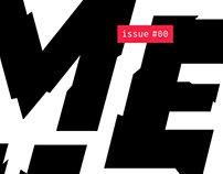 Melt magazine - Cover design