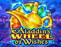 ART DIRECTION FOR SLOTOMANIA ALADDIN'S WHEEL OF WHISHES