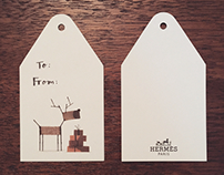 Hermés Christmas Gift Tags