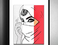 Arabian Woman Illustration