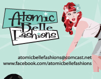 Atomic Belle Fashions Branding