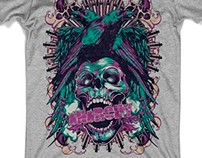 T-shirt designs - Tattoo style