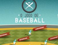 O jogo de Baseball