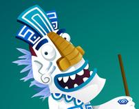 Momaki - Mascot