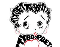 Betty Boop Typography