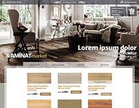 Laminate site header design
