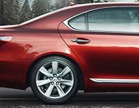 CGI Lexus LS 600h