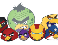 Graphic Arts: Angry Avengers