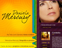 Daniela Mercury Website