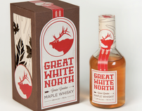 Great White North Maple Whisky Packaging