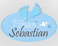 Baby Ethan Sebastian Logo