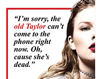 Taylor Swift Magazine (Semester 1)
