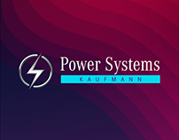 Brand Identity POWER SYSTEMS.