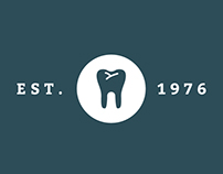 NH Dental Partners Logo and Brand Identity