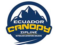 Ecuador Canopy. Zipline