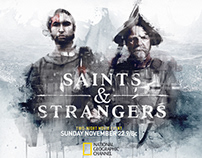 """Saints & Strangers"" National Geographic I 2015"