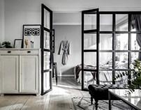 Bedroom scandinavian