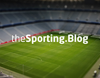 The Sporting Blog Brand Identity